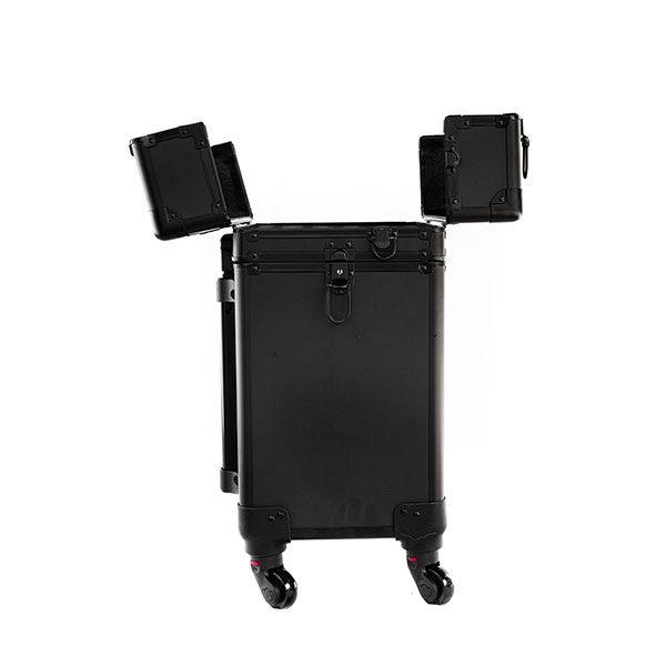 Επαγγελματική Βαλίτσα με 4 ρόδες για ημιμόνιμα TC-3345R Μαύρο