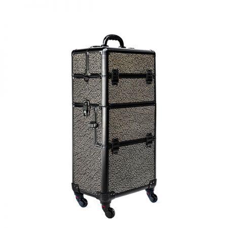 Επαγγελματική Βαλίτσα με 4 ρόδες TC-3360R Μαύρο με Χρυσό Ανάγλυφο