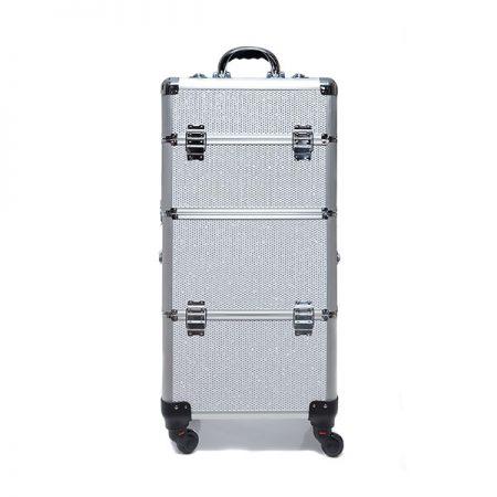 Επαγγελματική Βαλίτσα με 4 ρόδες TC-3360R Λευκό Glitter