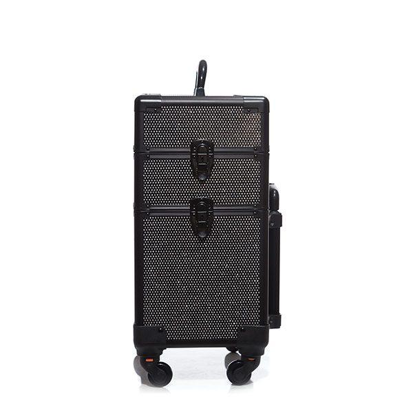Επαγγελματική Βαλίτσα με 4 ρόδες TC-3362R Black Glitter
