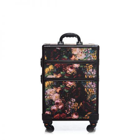 Επαγγελματική Βαλίτσα με 4 ρόδες TC-3362R Floral