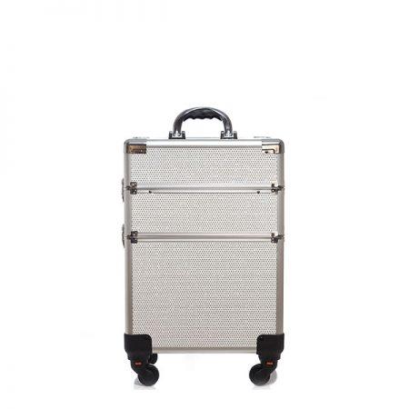 Επαγγελματική Βαλίτσα με 4 ρόδες TC-3362R White Glitter