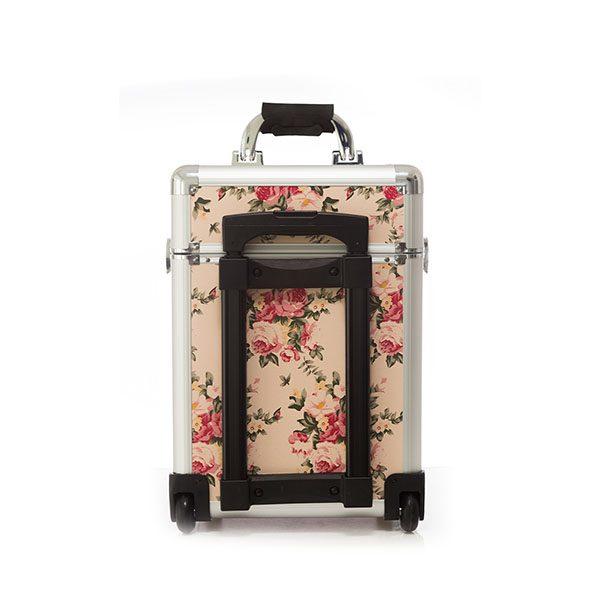Επαγγελματική Βαλίτσα με 2 ρόδες TC-3364R Floral Ανοιχτό