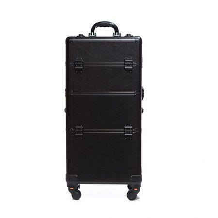 Επαγγελματική Βαλίτσα με 4 ρόδες TC-3360R Μαύρο Ματ