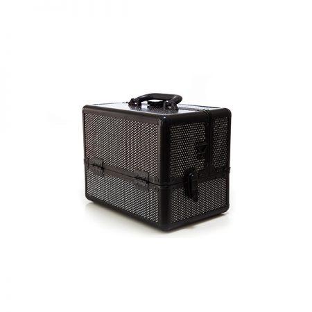 Επαγγελματικό Βαλιτσάκι Χειρός TC-1432R Black Glitter