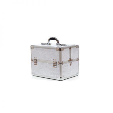 Επαγγελματικό Βαλιτσάκι Χειρός TC-3363R Glitter Λευκό
