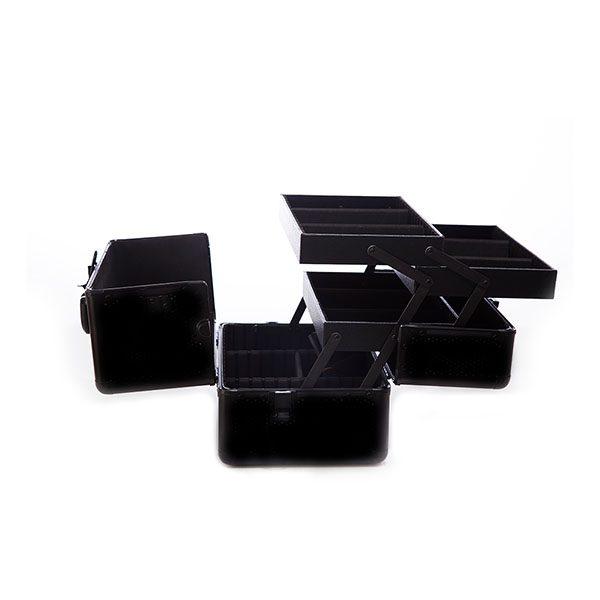 Βαλιτσακι black matte tc 1432 ανοιχτο