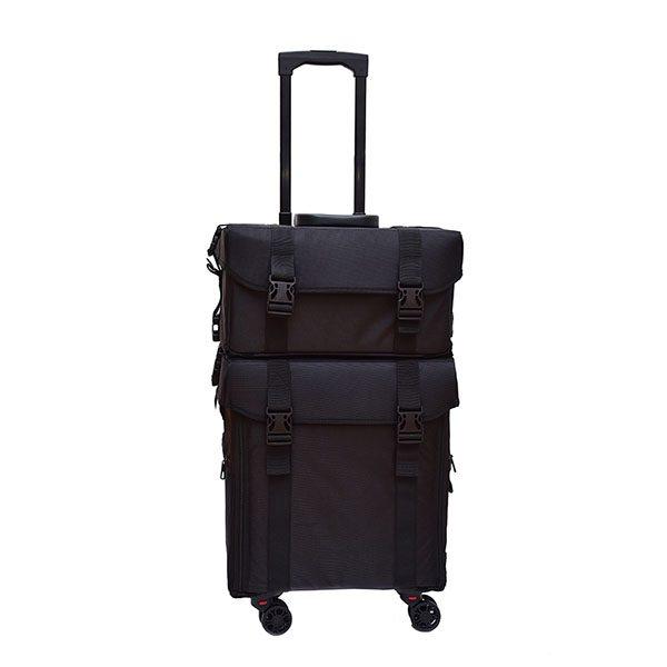 Επαγγελματική Βαλίτσα με 4 ρόδες TC-3002R Black