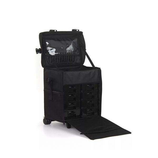 Επαγγελματική Βαλίτσα με 2 ρόδες TC-3002R Black