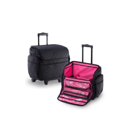 Επαγγελματική Βαλίτσα με 2 ρόδες TC-3005R Black