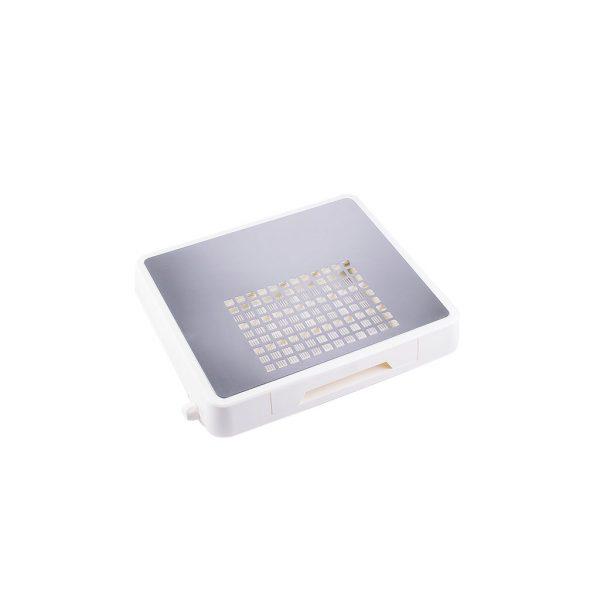 Απορροφητήρας σκόνης νυχιών με φίλτρο 60Watt Ασημί