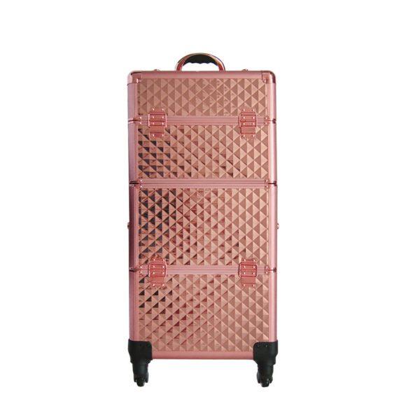 Επαγγελματική Βαλίτσα με 4 ρόδες TC-3360R Rose Gold