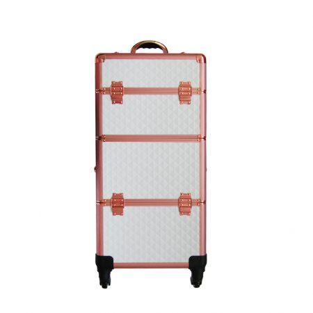 Επαγγελματική Βαλίτσα με 4 ρόδες TC-3360R White Rose Gold